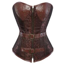 $enCountryForm.capitalKeyWord UK - irdle belts for women girdle waist support corset shaper underwear top slimming underbust leather bustier dress steampunk sexy