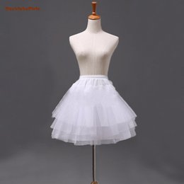 $enCountryForm.capitalKeyWord Australia - White Short Petticoats 2018 Women Petticoat For Wedding Dress petticoat hoop