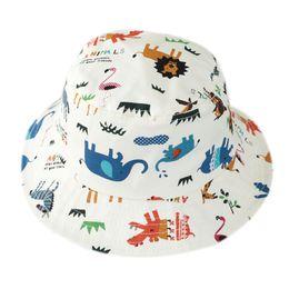 Ingrosso Cappello del sole del cappuccio del bacino del ragazzo del parasole del fumetto della ragazza del cappello della ragazza del cappello del pescatore del bambino della primavera e di estate