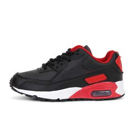 $enCountryForm.capitalKeyWord NZ - New brand spring and summer foreign trade air cushion shoes children boys and girls tide sports running shoes soft bottom children's shoes