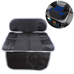 China Car Seat Guardian Protector Baby Child Carseat Seat Protective Cover Dog Mat Vehicle Cover With Storage Pocket Non Slip-Black cheap pvc car slip mat suppliers