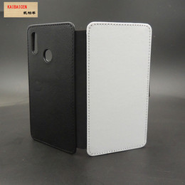 2d Sublimation Cases NZ - For Huawei P30  P30 Pro P30 Lite  P-Smart 2019 Sublimation 2D leather PU mobile phone case cell phone cover