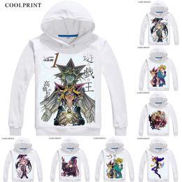 2019 Game Yu-gi-oh Hoodies Anime Men Women Clothing Warm Hooded Sweatshirts Long Sleeve Pullovers Coat Men's Clothing