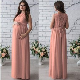 629bd8ece00a1 Maternity Clothes Fashion New Arrival Hollow Lace Dress for Pregnant dress  round neck sleeveless lace pregnant women dress