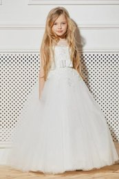 party kids special occasion dresses NZ - New Charming Special Occasion Dress Pincess Pageant Flower Girl Dresses Wedding Party Dress Kids Gown Children Dress GHA16