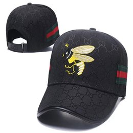 Little Hats Australia - Designer Hats Caps Men Baseball Cap for Mens Womens Brand Cap Adjustable Little Bee Embroidery Hats Superior Quality 6 color High Quality