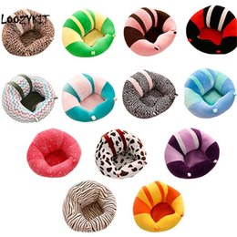 Baby Car Seat Toys Australia - Loozykit Seats Sofa Baby Support Learning To Sit Soft Plush Toys Travel Car Seat Feeding Chair Q190530