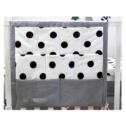 BaBy cradle Beds online shopping - 1pc cm Baby Bed Hanging Storage Bag Newborn Crib Organizer Toy Diaper Pocket For Cradle Baby Bedding Infant Nursing Bag