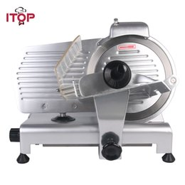 "$enCountryForm.capitalKeyWord Canada - 10"" Blade Electric Frozen Meat Slicer Cutter Home Kitchen HEAVY DUTY Commercial Semi-Automatic Meat Cutting Machine Food Processors Kitchen"