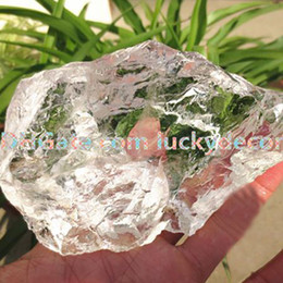 wicca crystals 2019 - 500g Random Size Natural Clear Irregular Quartz White Crystal Raw Chunk Stone Specimen Uncut Rock Crystal Rough Gemstone