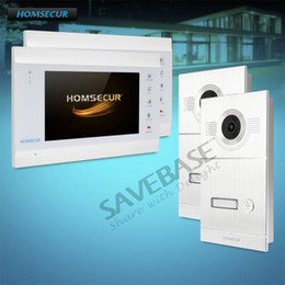 """Discount audio flat - HOMSECUR 7"""" Video&Audio Smart Doorbell with Intra-monitor Audio Intercom for House Flat"""