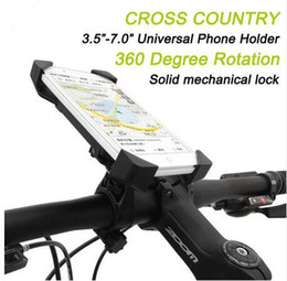 Iphone 4s Accessories Cases Australia - Hot selling Bicycle Accessories Handlebar Clip Mount Bracket Mobile Phone Bike Holder Stand For iPhone 4 4S 5 5s 6 6s plus Samsung Case