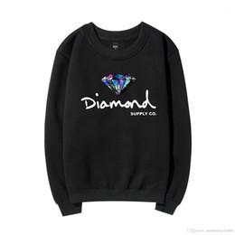 Wholesale new diamond hoodies resale online – Hoodies Autumn Winter Spring New Fleece O neck Supply CO Sweatshirts Mens Designer Diamond