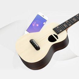 soprano ukulele guitar 2019 - Populele S2 Acoustic Electric Guitar Smart Soprano Ukulele 23 Inch Mini Guitar Ukulele Concert for Beginners 4 String ch