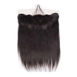 Discount silk frontal hair - My queen brazlian human hair Swiss hd 13*4 lace closure frontal silk straight with baby hair looks very natrual
