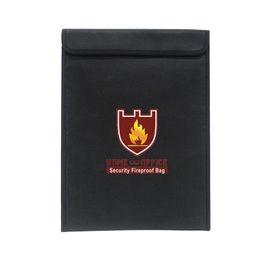 $enCountryForm.capitalKeyWord Australia - Double-sided Fireproof Briefcase Bag For Documents Household Explosion-proof Shoulder Office Bags Secure File Folder Storage Bag