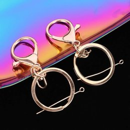 $enCountryForm.capitalKeyWord Australia - 5pcs lot Key Ring Classic Lobster Clasp Key Hook Chain Jewelry Making For Women Men DIY Chains Accessories