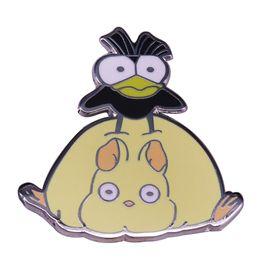 $enCountryForm.capitalKeyWord UK - Boh Mouse and Bird Spirited Away pin Studio Ghibli anime flair Kawaii animals adventure addition