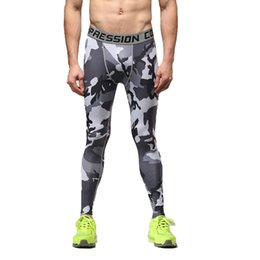 $enCountryForm.capitalKeyWord Australia - Vertvie Men's Elastic Camouflage Running Leggings Comfotable Pants Smooth Gym Tights Quick Dry Soft Pant Breathable New Legging