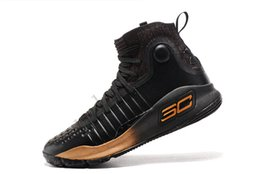 Curry 4 Shoes NZ - New HOT Stephen Curry 4 Gaobang FUNWU basketball shoes  white men s 635a61b06a