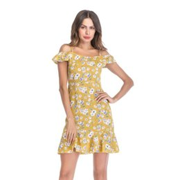 7afebecf5700 Women Summer Dresses Casual Dresses with Flora Printted Lady Sexy Skirts  Beach Dresses Clothing 7 Styles S-XL Size
