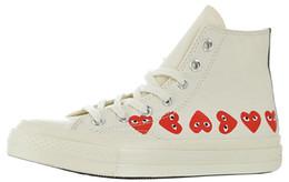 Herren COMMEs des GARCONS PLAY Chuck 1970 Cavans Sneakers für Herren Tayler Vulcanized Schuhe Mann Skateboarding Damen Skate Damen Herzen Frau im Angebot
