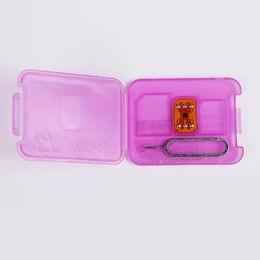 Cdma Wcdma Sim Card UK - RSIM 12 R SIM 12 RSIM12 Power Chip Unlock Card for iPhone X 8 7 Plus i6 Unlocked iOS11 ios 11.x-7.x 4G CDMA GSM WCDMA SB AU SPRINT