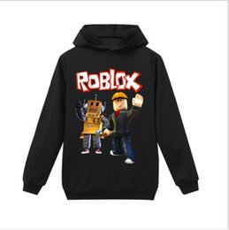 cotton direct NZ - 2019 New best-selling roblox Fort night cotton spring and autumn children's Hoodie long sleeve T-shirt factory direct sales