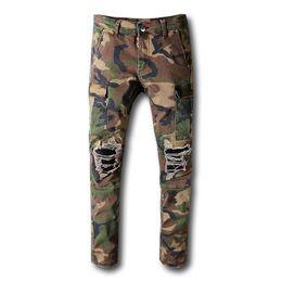8da414a4d Jogger pants 4xl online shopping - Fashion Mens Pants Fashion Camouflage  Jogging Pants Mens Zipper Overalls
