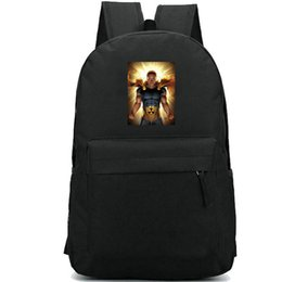 mark bags UK - Hyperion backpack Mark Milton school bag Marcus Super hero fans print daypack Leisure schoolbag Outdoor rucksack Sport day pack