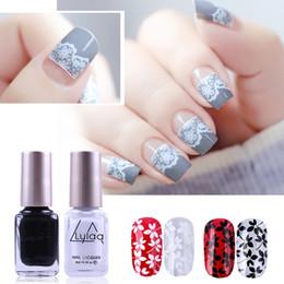 $enCountryForm.capitalKeyWord Australia - LULAA 12 Color Stamp & Stamping Nail Polish Stamping Polish Nail Art Lacquer for DIY Plate Tools