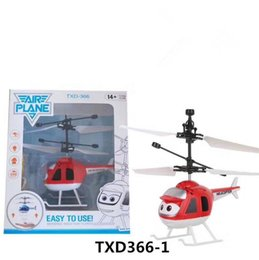 wholesale toys helicopter Australia - 7 Styles Air RC Flying Ball Drone Mini Induction Aircraft Helicopter Built-in Shining LED Resistant Suspension Aircraft Aviation Model Toy