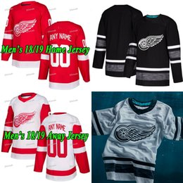 1bf32e8d4c0 Jimmy Howard 2019 All Star Detroit Red Wings Jersey Dylan Larkin Gustav  Nyquist Andreas Athanasiou Tyler Bertuzzi Frans Nielsen Thomas Vanek