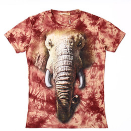 3fb705624951 Newest Style Ivory Funny Hot Fashion Animal Elephant T Shirt 3D Print Men  Womens Summer Round Collar Short Sleeve Casual Tops U1499