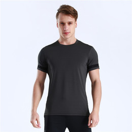 $enCountryForm.capitalKeyWord UK - 2019 New Summer Shirt Polyester Gym Fitness Men t-shirt Brand Clothing Sports t shirt Male Short Sleeve Running Shirts Tops