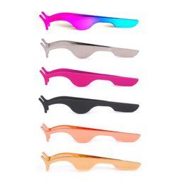 $enCountryForm.capitalKeyWord Australia - False Eyelash Tweezers Fake Eye Lash Applicator Eyelash Extension Curler Nipper Auxiliary Clip Clamp Makeup Tools
