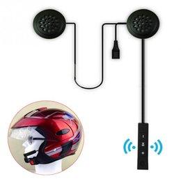 2019 Novo Bluetooth Anti-interferência Para Capacete Da Motocicleta Equitação Mãos Livres De Fone De Ouvido em Promoção