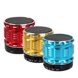 TableT pc supporT online shopping - Bluetooth Speaker Metal Wireless Mini Smart Portable Audio Subwoofer For Mobile Phones Tablets PC Outdoor Home Support TF U Disk