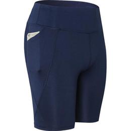 $enCountryForm.capitalKeyWord UK - Women Casual Striped Pocket Elastic Waist Yoga Exercising Shorts All Seasons