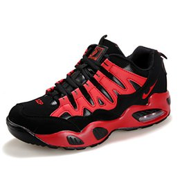 Tennis Shoes Springs Australia - Spring 2019 sneakers men's and women's casual shoes breathable mesh shoes air cushion running tennis volleyball shoes student size 5.5-12n13
