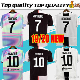 5593d9af6 Green soccer shirts online shopping - Thailand RONALDO Juventus champions  league soccer jerseys DYBALA Sports football