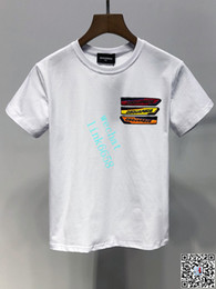 Discount print style mens t shirts - Kids Designer Clothes Girl Baby Boy Fashion Print Cotton Clothes Designer Mens Designer T-Shirt Breathable Fashion Brand
