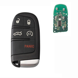 Chinese  5Buttons 433Mhz Remote Replace Smart Key For Dodge Journey 2011 2012 2013 2014 2015 Car Key Fob With ID46 PCF7953 Chip manufacturers
