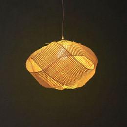 $enCountryForm.capitalKeyWord Australia - Bamboo Wicker Rattan Cloud Shade Pendant Light Fixture Japanese Tatami Hanging Ceiling Lamp Plafon Lustre Avize Luminaria Design
