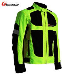 Summer Motorcycle Jacket Xxl Australia - summer Motorcycle men's woman's jacket Moto Protective Gear Jacket men Racing Reflective oxford clothing Motorbike jackets
