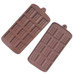 $enCountryForm.capitalKeyWord Australia - 12 block Silicone Grade Chocolate Mold Cake Fondant Molds Baking Accessories DIY Candy Kitchen Gadgets Cake Decoration tool