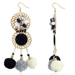 $enCountryForm.capitalKeyWord Australia - Fashion Love Designer Directly Ornaments Exaggeration Nation Romantic Earring Hair Bulb Tassels Earrings Earrings For Women