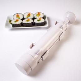 $enCountryForm.capitalKeyWord Australia - Sushi Maker Roller Roll Mold Sushi Roller Bazooka Rice Meat Vegetables DIY Sushi Making Machine Kitchen
