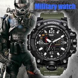 $enCountryForm.capitalKeyWord Australia - SMAEL Brand Fashion Men's Waterproof Sports Shock Analog Quartz Dual Display Watch Style Military Digital Led Watches Relogio Masculino