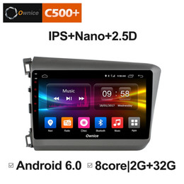 "$enCountryForm.capitalKeyWord Australia - 9"" 2.5D Nano IPS Screen Android Octa Core 4G LTE Car Media Player With GPS RDS Radio Bluetooth For Honda Civic 2011-2015 #3129"